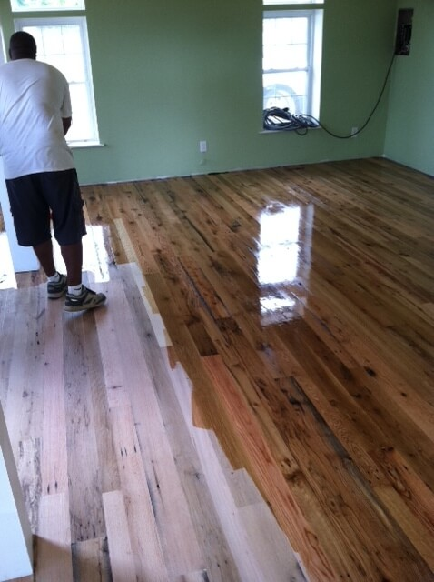 Reclaimed hardwood flooring nc reclaimed lumber nc for Reclaimed hardwood flooring