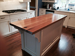 White Oak Kitchen Island