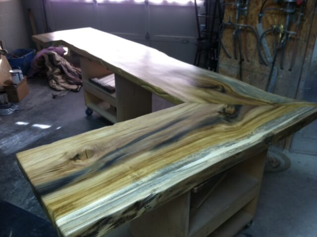 Large Wood Kitchen Table